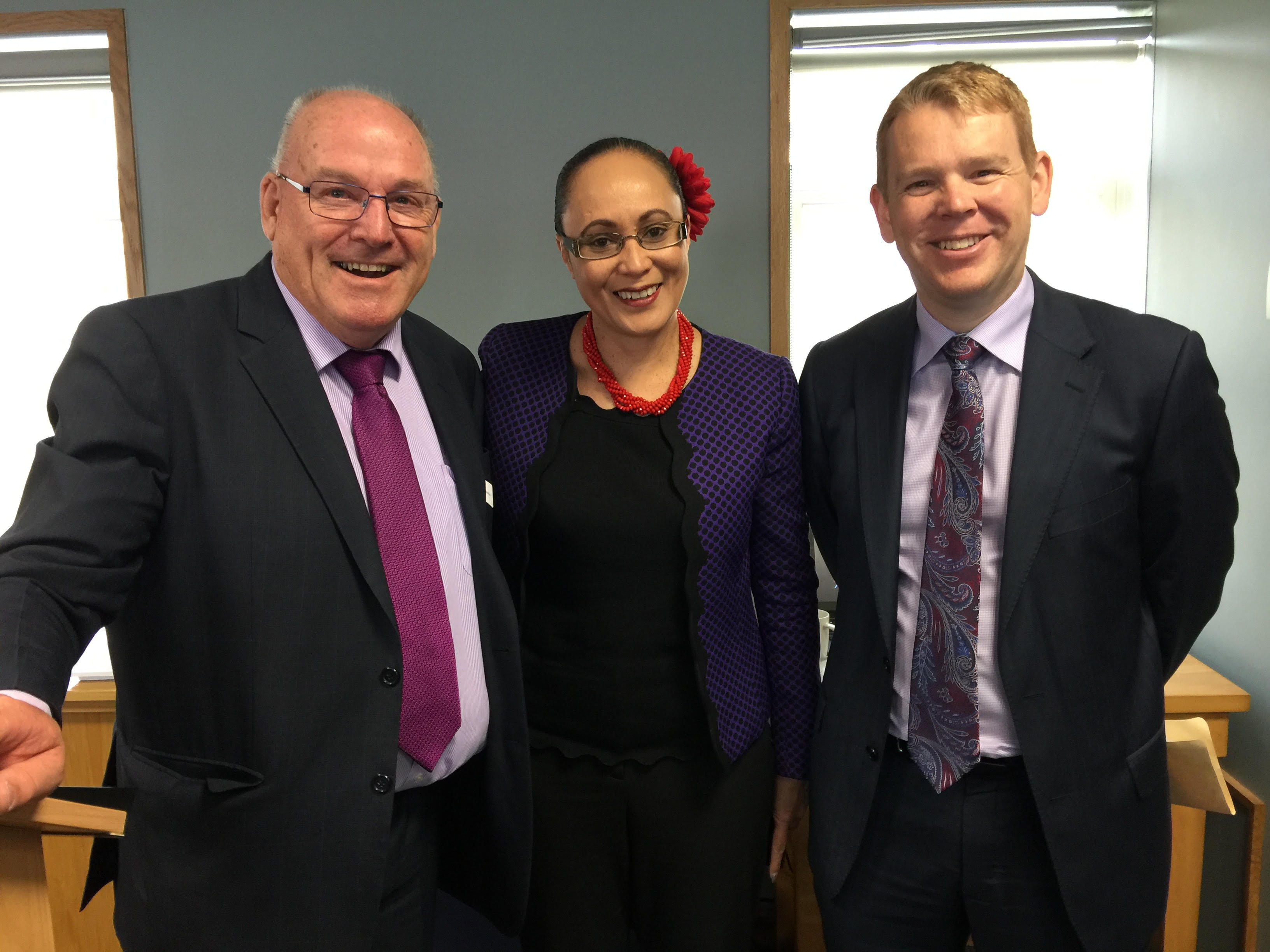Paul Ferris Hon Jenny Salesa Hon Chris Hipkins